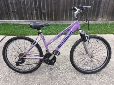 Girls Schwinn 23 inch mountain bike