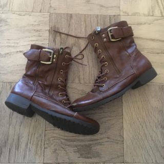 LAST CALL!! G by Guess brown combat boots