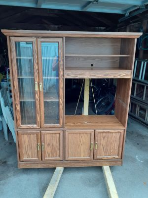 TV unit and storage