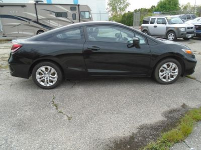 2015 Honda CIVIC COUPE 2dr CVT LX (Black)