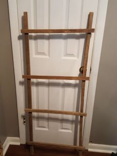 ANTIQUE TOBACCO LADDERS