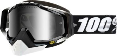 Sell 100% Racecraft Snow Goggles Black w/Mirror Silver Lens 50113-001-02 motorcycle in Lee's Summit, Missouri, United States, for US $74.95