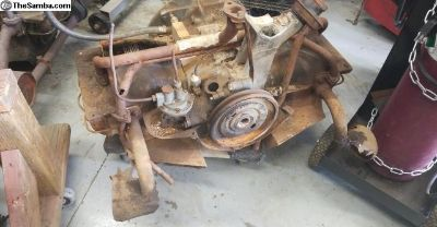 36hp engine for parts