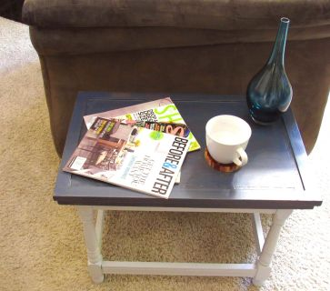 Rustic Chic Side Table