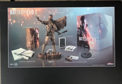 New Battlefield 1 The Exclusive Collector's Edition