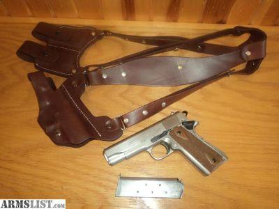 For Sale: Colt Series 70 Combat Commander Satin Nickel
