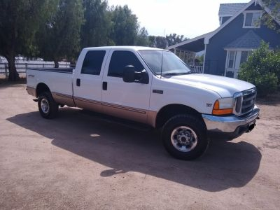 99 FORD F250 7.3 4X4 CREW CAB LONG BED SUPER DUTY