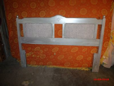 Queen Headboard and Frame $55 Adel