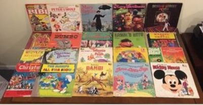 Vintage Collectors Children s Record Albums Classics Lot