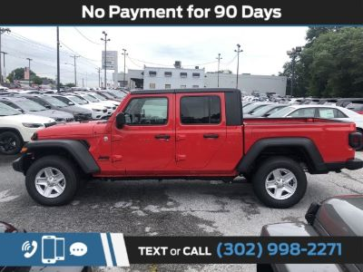 2020 Jeep Gladiator (Firecracker Red Clearcoat)