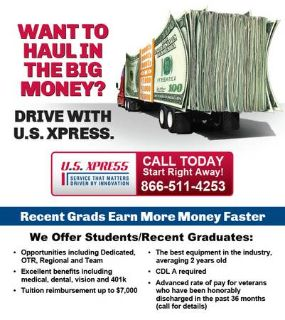 Student or Recent Graduate CDL A Truck Driver Wanted Drive the newest equipment (Southwest TX)