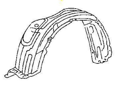Buy L or R Fender Liner Avalon 1997 1998 1999 FAST SHIP motorcycle in Saint Paul, Minnesota, US, for US $39.69