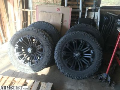 For Sale/Trade: 22x12 XD Rims and 37 Tires