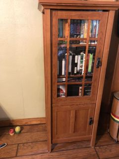 Matching TV Stand and media cupboard