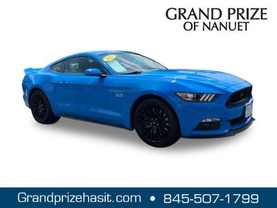 2017 Ford Mustang (Blue)