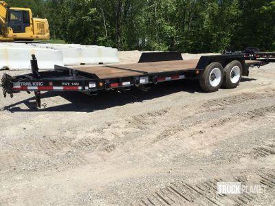 2011 Trail King TKT14U-202 T/A Equipment Trailer