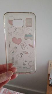 Note 5 medical cell phone case
