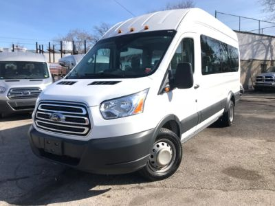 "2017 Ford Transit Wagon T-350 148"" EL High Roof XLT Sl (Oxford White)"