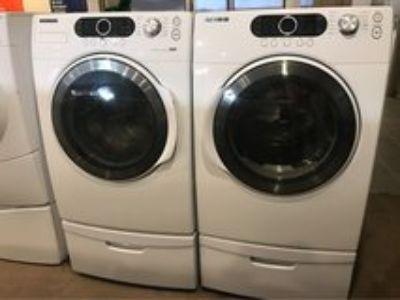 Samsung washer and dryer electric