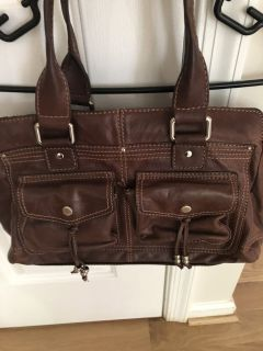 Brown/black purse