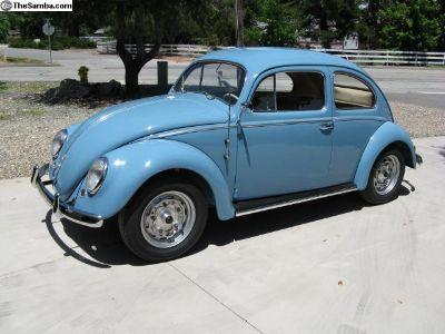 1955 VW European Deluxe. Holland Model