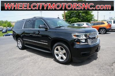 2016 Chevrolet Suburban LT (Black)