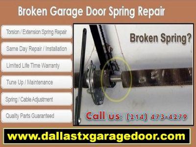 Trusted Garage Door Spring Repair Company 75244