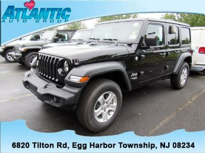 2018 Jeep Wrangler Unlimited Sport S (Black Clearcoat)