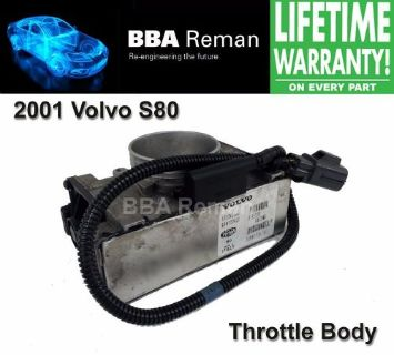 Purchase 2001 Volvo S80 Magneti Marelli Throttle Body Repair Service Throttlebody 01 S 80 motorcycle in Taunton, Massachusetts, United States
