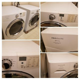 Fridgidair Affinity front load washer and drier