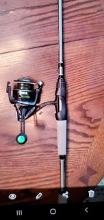 "Lew's Mach 2 reel on Lew's TXS 6'6"" med rod"