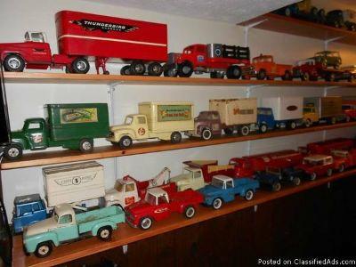 Tonka, Structo, Nylint, Tru Scale, Doepke Any Pre 1980 Boys Toys Wanting to Buy