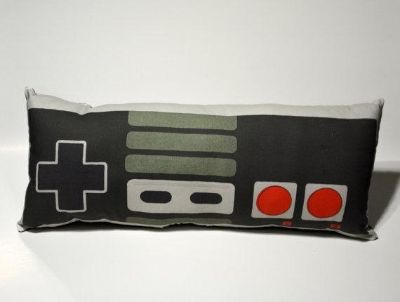 """80's Vintage Gaming Controller Pillow - 17.5"""" Cushion Soft Toy"""