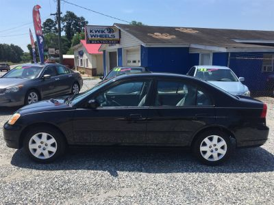 2002 Honda Civic EX (Black)