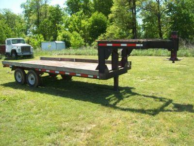 16 x 7 Goose Neck trailer