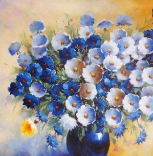 Still Life Flower & Objects Oil Paintings On Canvas  - Arteet™