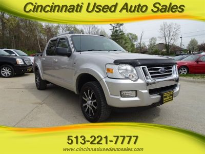 2007 Ford Explorer Sport Trac Limited (Silver Birch Clearcoat Metallic)