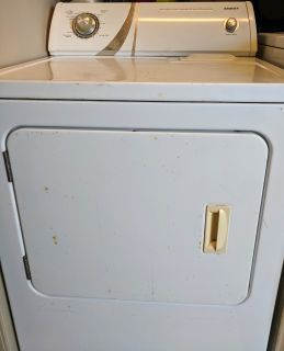 Admiral Dryer and LG Front Loader Washer