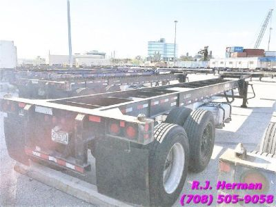 2010-2011 Hyhundai 40 ft Goose-Neck Chassis 300 Available