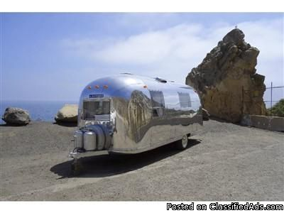 FRESNO TRAILER 1967 AIRSTREAM SAFARI FCA