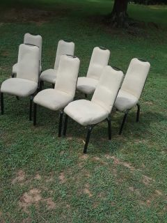 Padded chairs