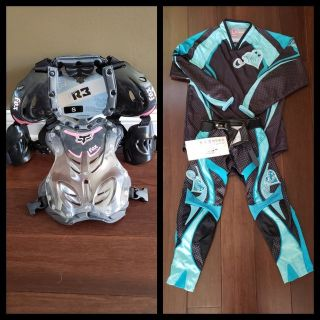 Girls Chest protector, shirt & pants