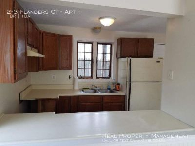 1 Bedroom 1 Bath Apartment close to downtown Dover!