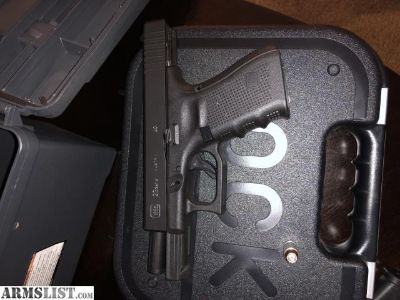 For Sale: Glock 23 gen 4 low round count