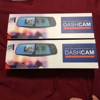 New Dash Cam with Mirror