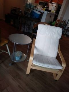 Bent Maple Wood Back Saver Zero Gravity Chair Removable Pad