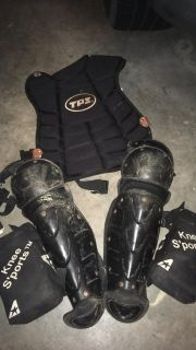 Used youth catchers gear set #2
