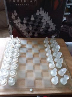 Chess set/Imperial Crytal