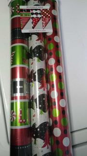New Christmas wrapping paper