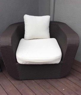 Outdoor Patio Club Chair